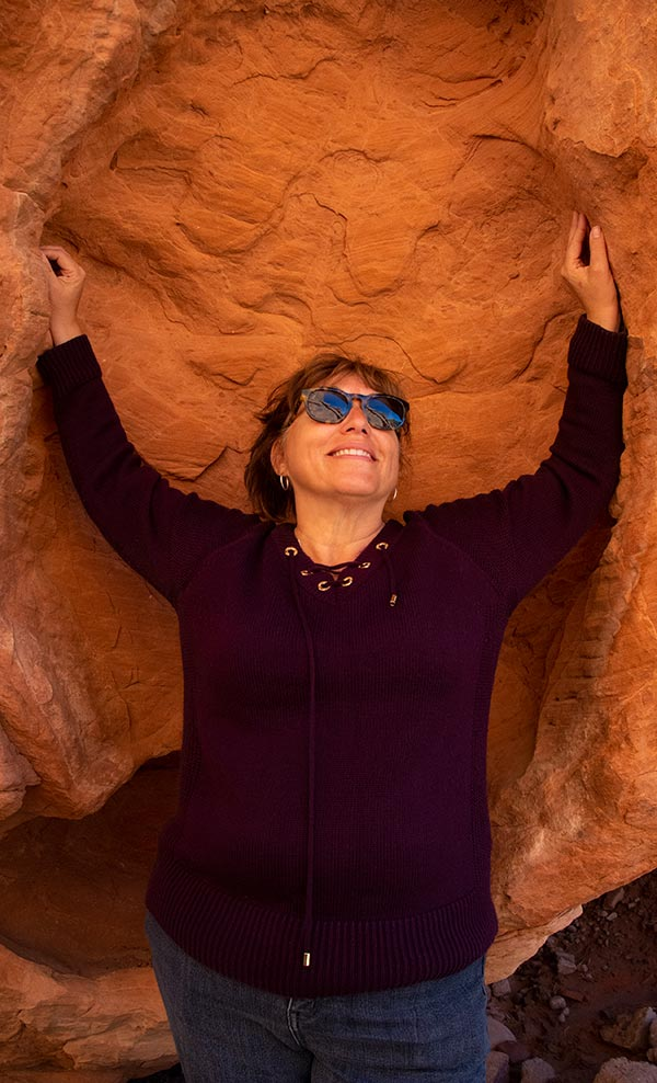 Go Real Coaching - Pat at Valley Of Fire